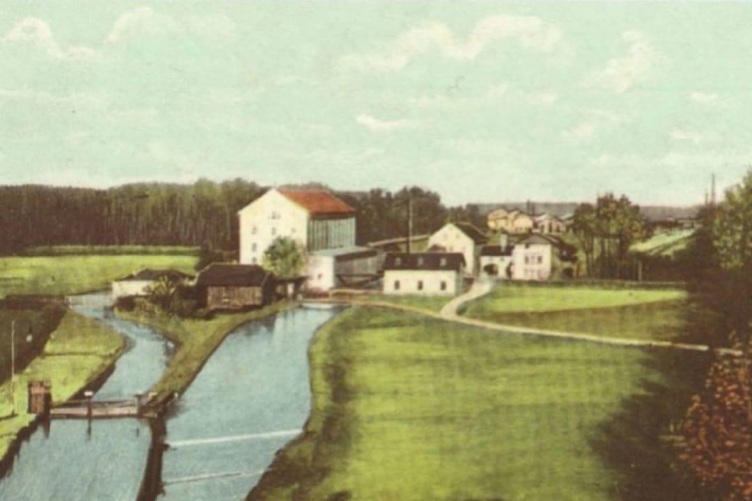 View of the Kunstmühle Tivoli